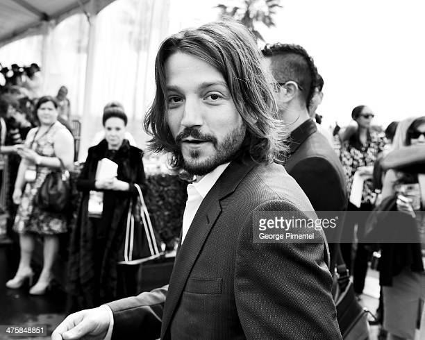 Actor Diego Luna attends the 2014 Film Independent Spirit Awards at Santa Monica Beach on March 1 2014 in Santa Monica California