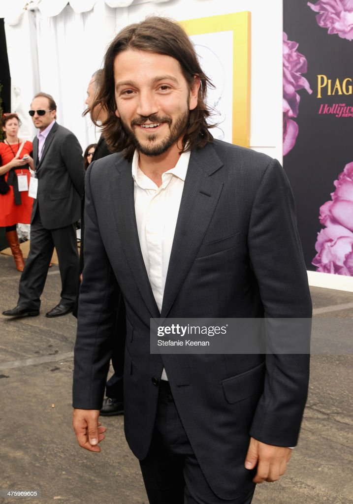 Actor Diego Luna attends the 2014 Film Independent Spirit Awards at Santa Monica Beach on March 1, 2014 in Santa Monica, California.