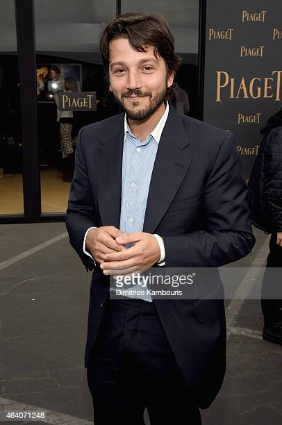 Actor Diego Luna attends the 30th Annual Film Independent Spirit Awards at Santa Monica Beach on February 21 2015 in Santa Monica California