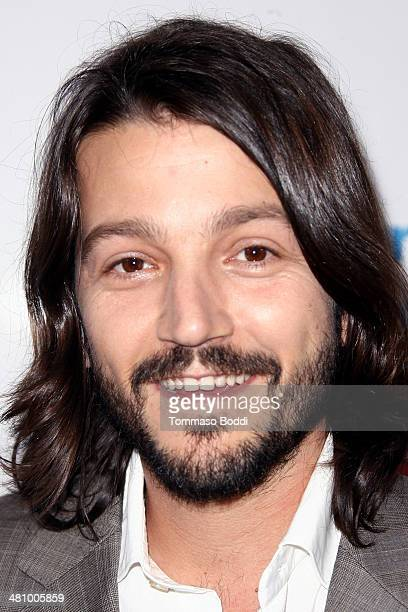 Actor Diego Luna attends the Cesar Chavez Foundation's 2014 Legacy Awards Dinner held at the Millennium Biltmore Hotel on March 27 2014 in Los...