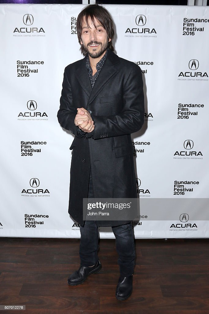 Actor Diego Luna attends the 'Mr Pig' Premiere Party At The Acura Studio At Sundance Film Festival 2016 2016 Park City on January 26 2016 in Park...