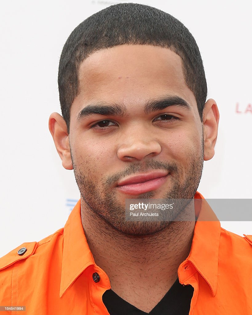 Actor Dijon Talton attends 'A Day Of Champions' benefiting the Bogart Pediatric Cancer Research Program at the Sports Museum of Los Angeles on October 21, 2012 in Los Angeles, California.
