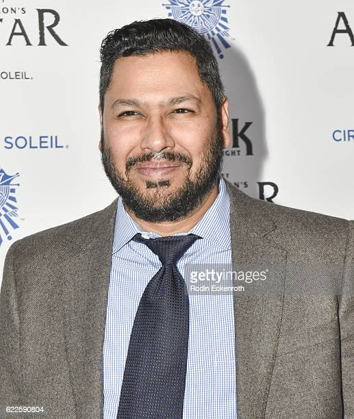 Actor Dileep Rao attends the opening night of Cirque du Soleil's 'Toruk The First Flight' at Staples Center on November 11 2016 in Los Angeles...
