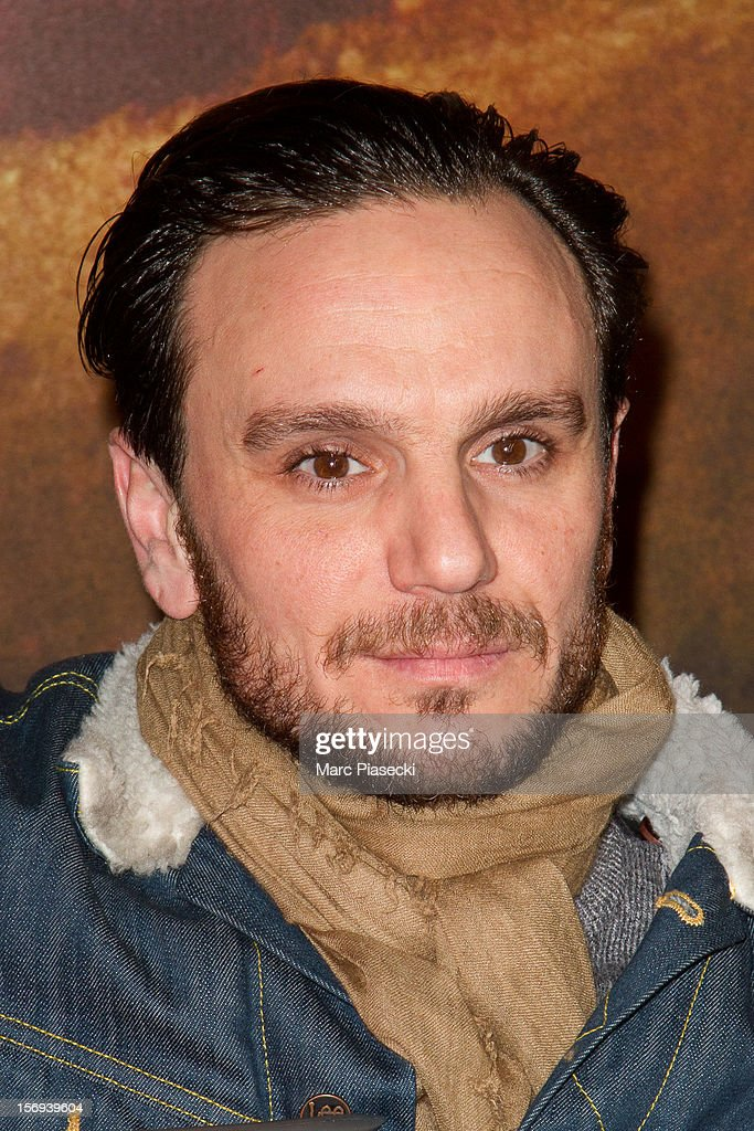 Actor Dimitri Storoge attends the Paris Premiere for the film 'Silent Hill Revelation 3D' at Gaumont Capucines on November 25, 2012 in Paris, France.