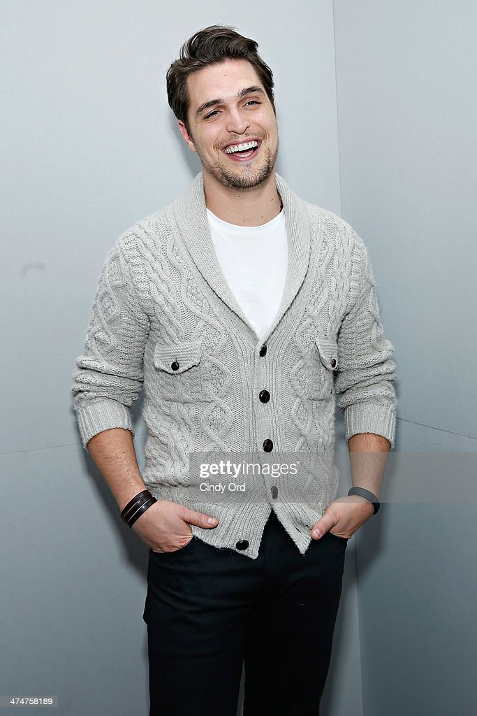 Actor Diogo Morgado attends Meet the Filmmakers 'Son Of God' at Apple Store Soho on February 24 2014 in New York City