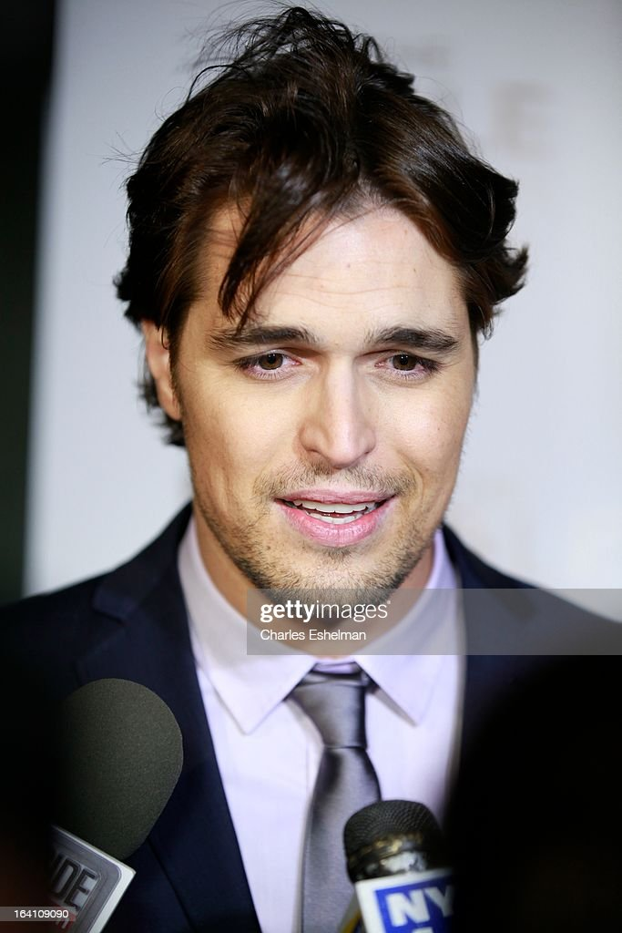 Actor Diogo Morgado attends 'The Bible Experience' Opening Night Gala at The Bible Experience on March 19, 2013 in New York City.