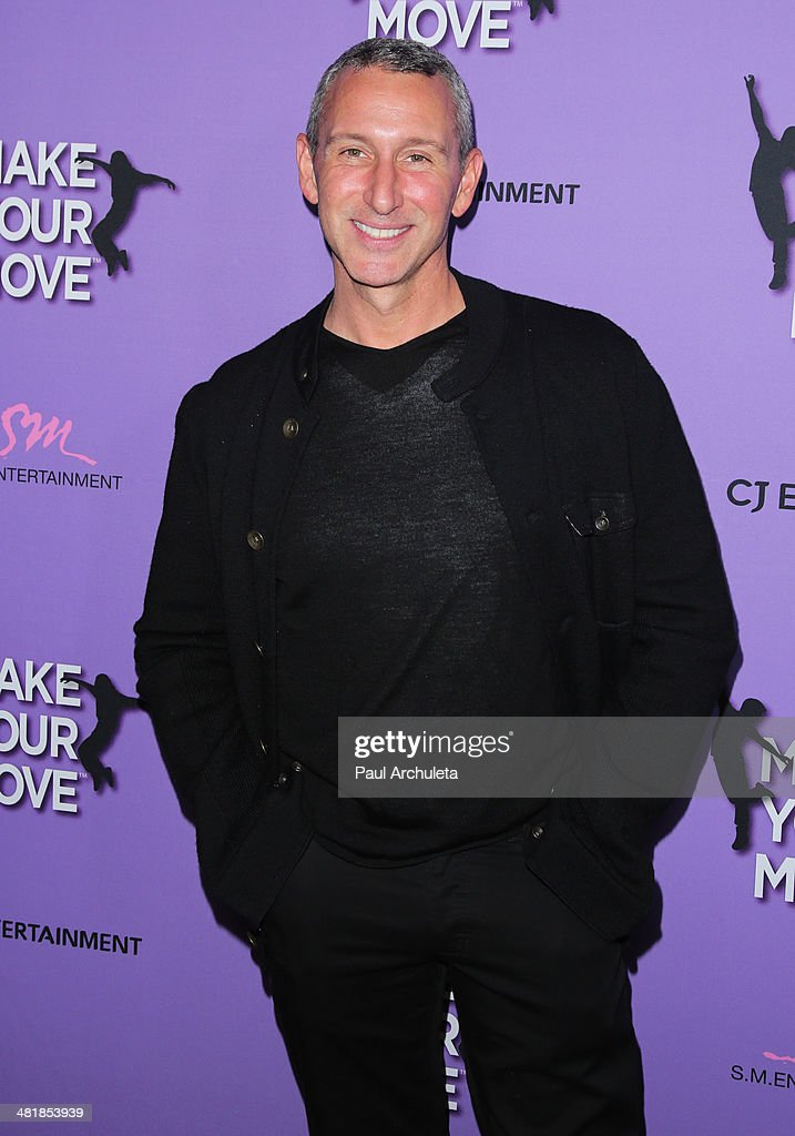 Actor / Director <a gi-track='captionPersonalityLinkClicked' href=/galleries/search?phrase=Adam+Shankman&family=editorial&specificpeople=1295239 ng-click='$event.stopPropagation()'>Adam Shankman</a> attends the premiere of 'Make Your Move' at the Pacific Theaters at the Grove on March 31, 2014 in Los Angeles, California.