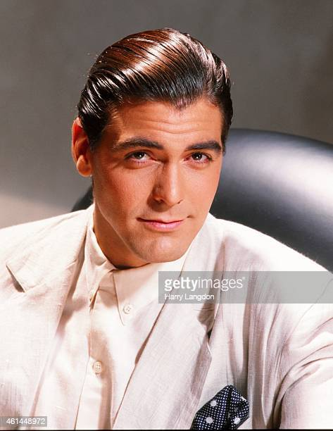 Actor director and producer George Clooney poses for a portrait session on March 2 1992 in Los Angeles California