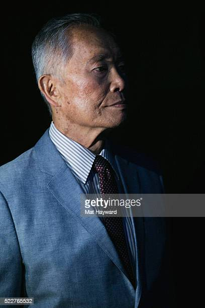 Actor Director Author and Activist George Takei waits back stage before speaking on stage during We Day at KeyArena on April 20 2016 in Seattle...