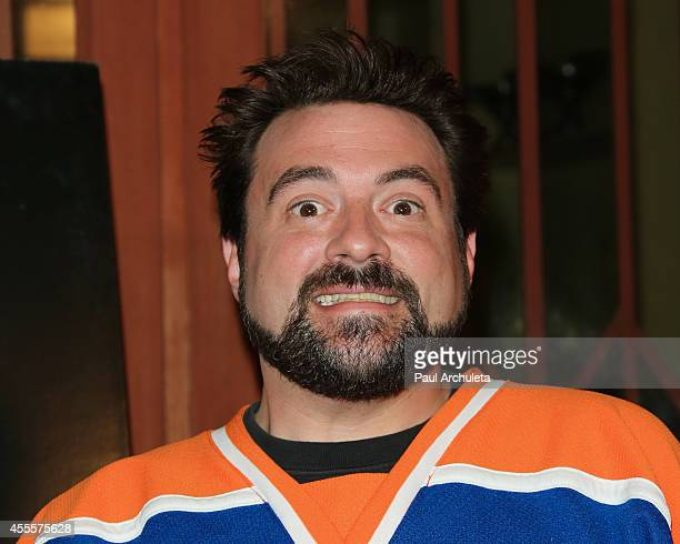 Actor / Director Kevin Smith attends the Los Angeles premiere of 'Tusk' at the Vista Theatre on September 16 2014 in Los Angeles California