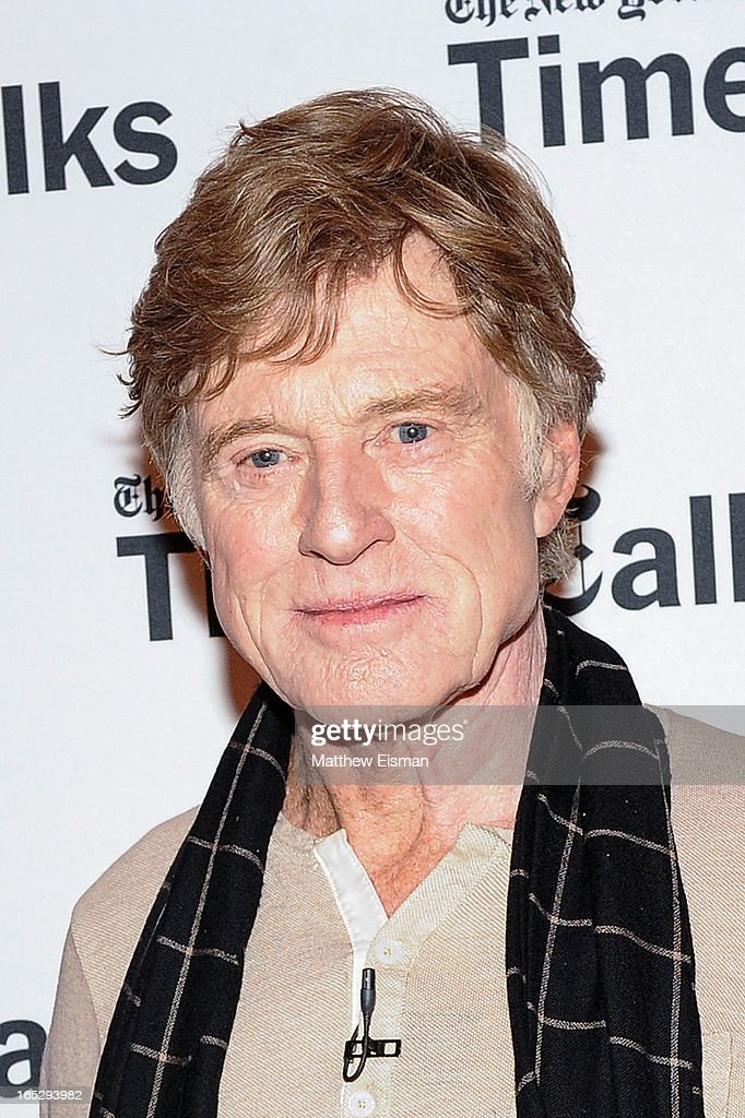 Actor/ director <a gi-track='captionPersonalityLinkClicked' href=/galleries/search?phrase=Robert+Redford&family=editorial&specificpeople=202897 ng-click='$event.stopPropagation()'>Robert Redford</a> attends TimesTalks Presents: 'The Company You Keep' at TheTimesCenter on April 2, 2013 in New York City.