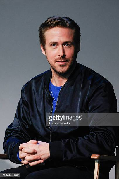 Actor/ Director Ryan Gosling attends Apple Store Soho Presents Meet The Filmmaker Ryan Gosling 'Lost River' at Apple Store Soho on April 11 2015 in...