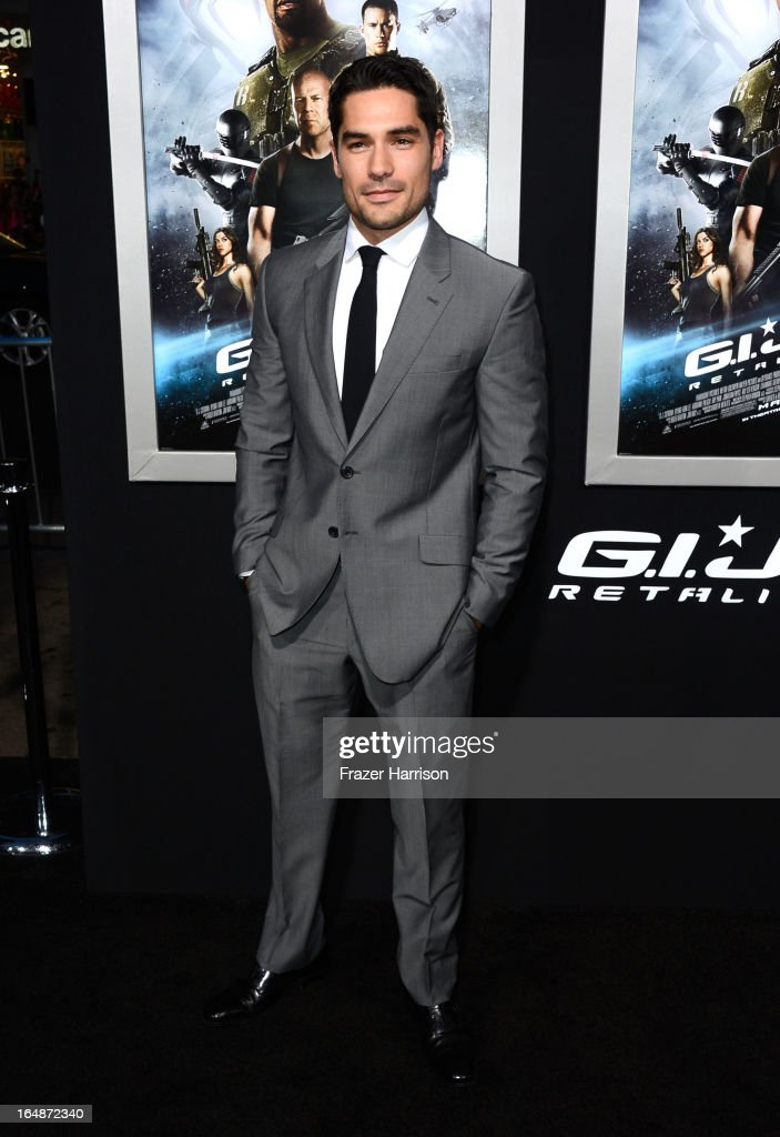 Actor D.J. Cotrona arrives at the premiere of Paramount Pictures' 'G.I. Joe: Retaliation' at TCL Chinese Theatre on March 28, 2013 in Hollywood, California.