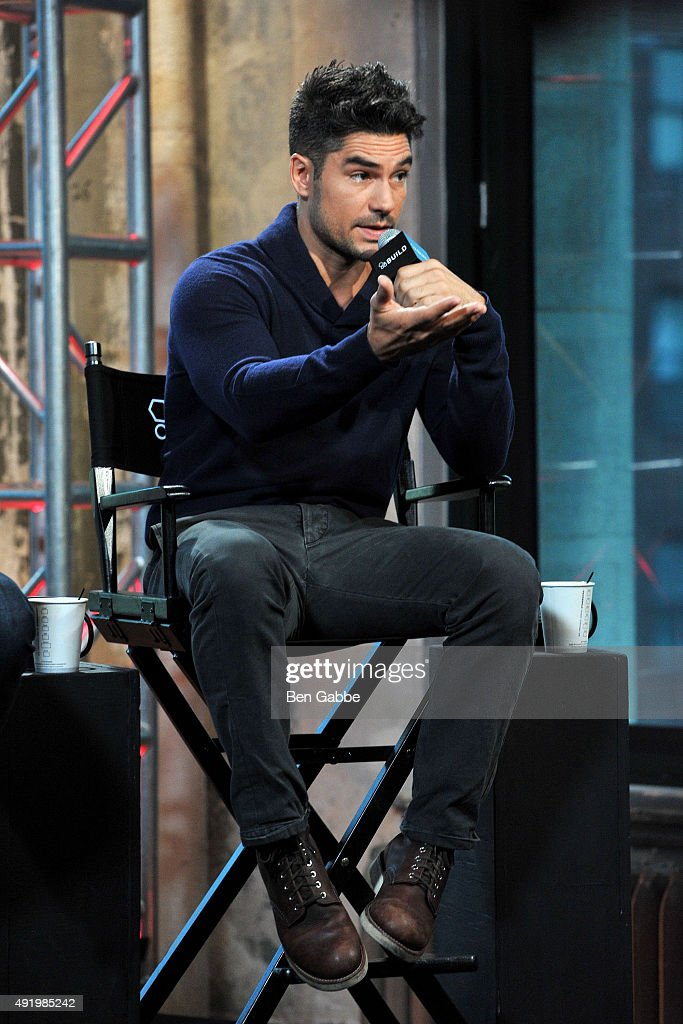 Actor D.J. Cotrona attends AOL Build presents 'From Dusk Til Dawn: The Series' at AOL Studios In New York on October 9, 2015 in New York City.