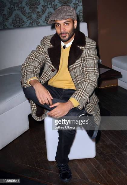 Actor / DJ Lohrasp Kansara attends the 'Blue Bloods' screening party at Chelsea Manor on February 2 2011 in New York City