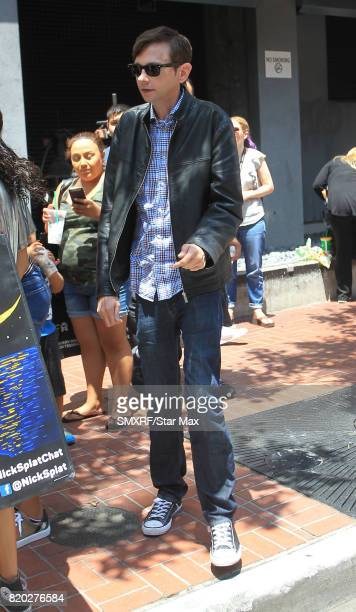 Actor DJ Qualls is seen on July 20 2017 at ComicCon in San Diego California