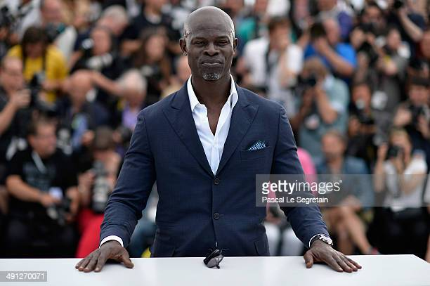 Actor Djimon Hounsou attends the 'How To Train Your Dragon 2' photocall during the 67th Annual Cannes Film Festival on May 16 2014 in Cannes France