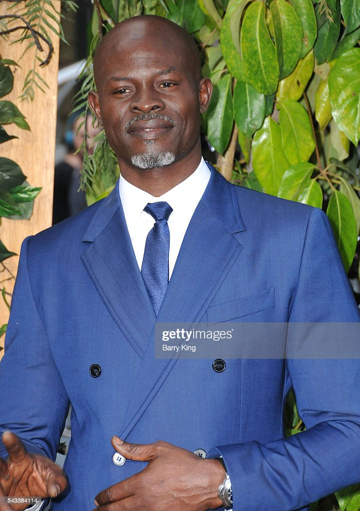 Actor <a gi-track='captionPersonalityLinkClicked' href=/galleries/search?phrase=Djimon+Hounsou&family=editorial&specificpeople=204469 ng-click='$event.stopPropagation()'>Djimon Hounsou</a> attends the premiere of Warner Bros. Pictures' 'The Legend Of Tarzan' at Dolby Theatre on June 27, 2016 in Hollywood, California.