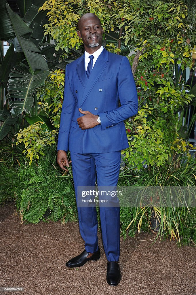 Actor Djimon Hounsou attends the premiere of Warner Bros. Pictures' 'The Legend Of Tarzan' held at the Dolby Theater on June 27, 2016 in Hollywood, California.