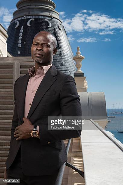 Actor Djimon Hounsou is photographed for the Hollywood Reporter in Cannes France