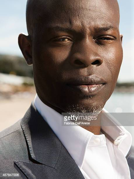 Actor Djimon Hounsou is photographed for Vanity Fair Italy on May 15 2014 in Cannes France