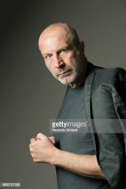 Actor Dobrin Dosev is photographed for Self Assignment on May 27 2017 in Cannes France