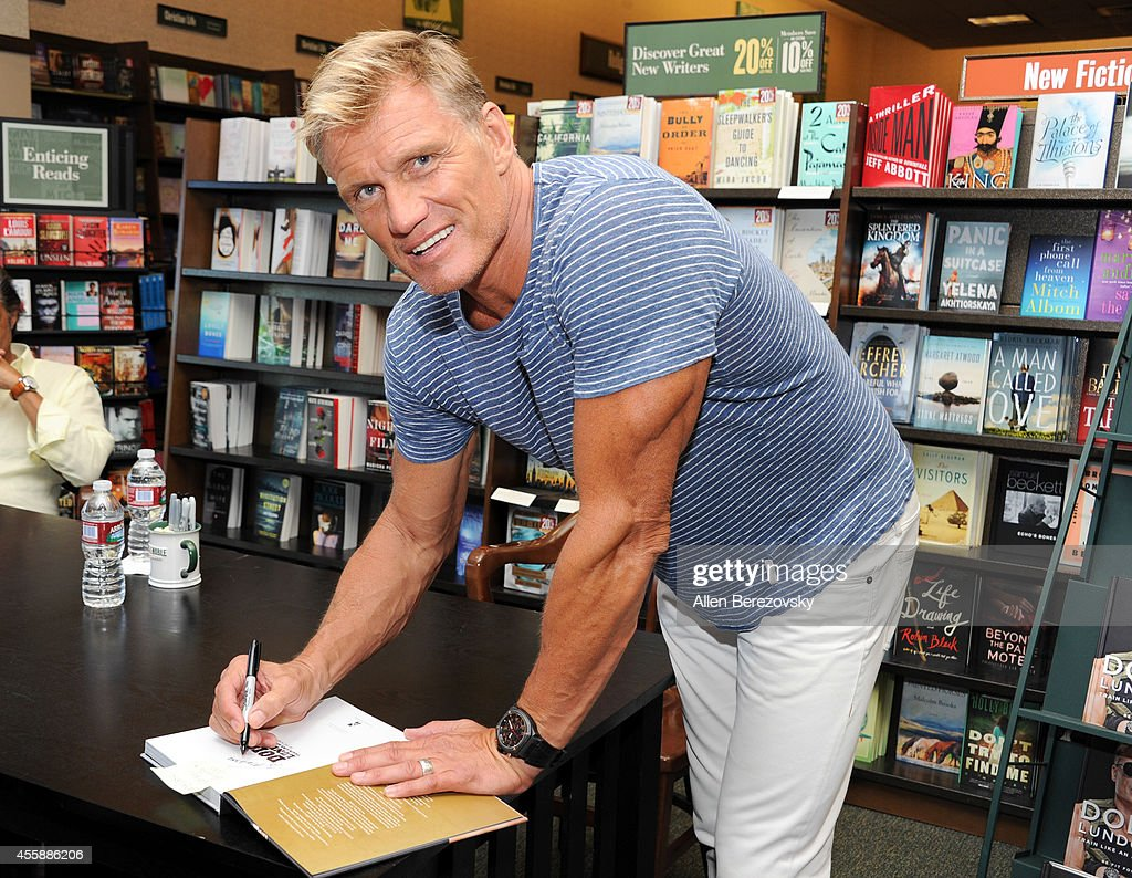 """""""Dolph Lundgren: Train Like An Action Hero: Be Fit Forever"""" Book Signing"""