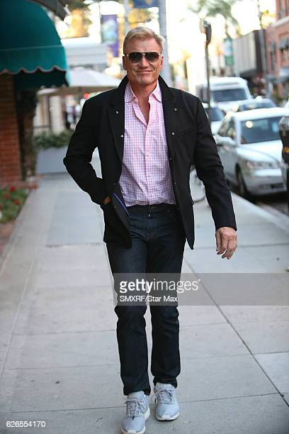 Actor Dolph Lundgren is seen on November 29 2016 in Los Angeles California