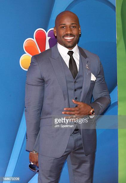 Actor Dolvett Quince attends 2013 NBC Upfront Presentation Red Carpet Event at Radio City Music Hall on May 13 2013 in New York City