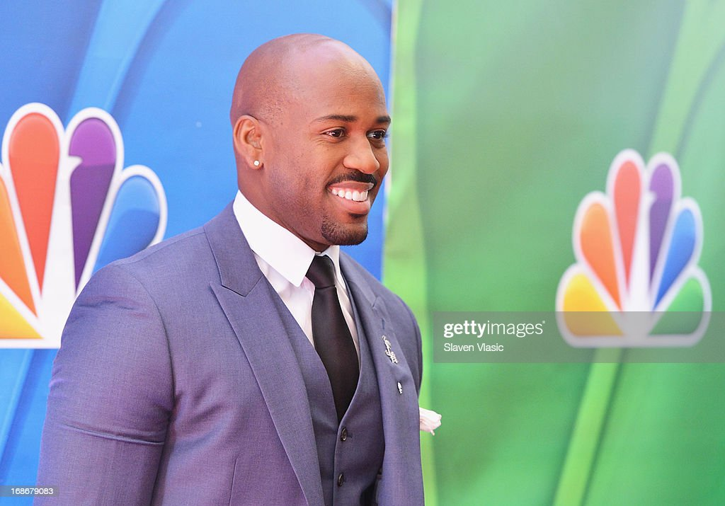Actor Dolvett Quince attends 2013 NBC Upfront Presentation Red Carpet Event at Radio City Music Hall on May 13, 2013 in New York City.