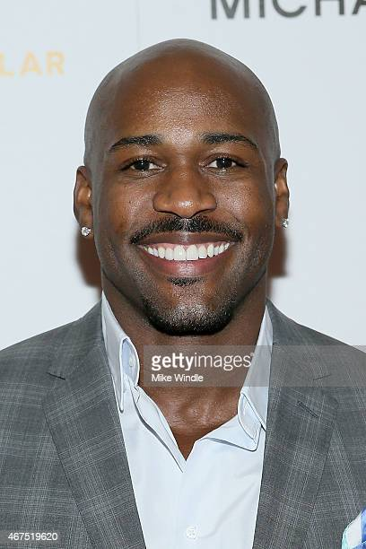Actor Dolvett Quince attends the Sports Spectacular Luncheon Benefiting CedarsSinai at The Beverly Hilton Hotel on March 25 2015 in Beverly Hills...