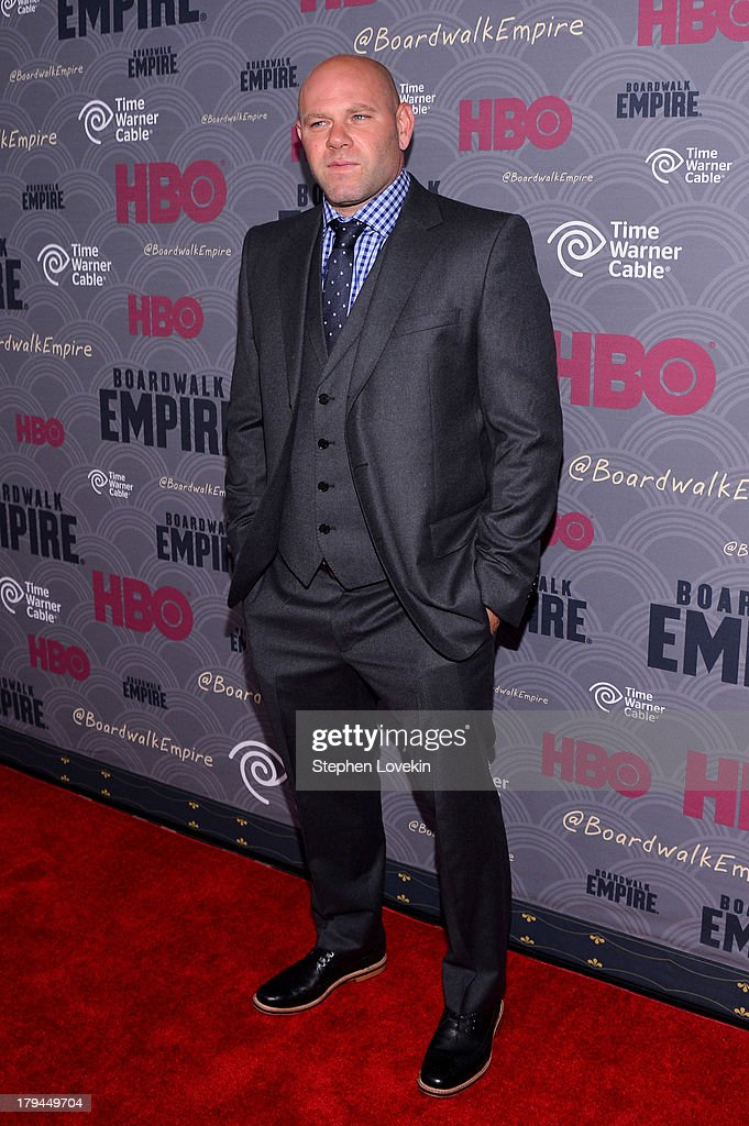 Actor Domenick Lombardozzi attends the 'Boardwalk Empire' season four New York premiere at Ziegfeld Theater on September 3, 2013 in New York City.
