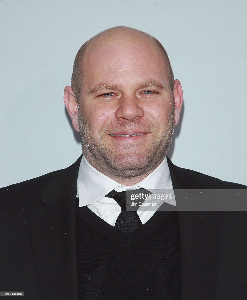 Actor <a gi-track='captionPersonalityLinkClicked' href=/galleries/search?phrase=Domenick+Lombardozzi&family=editorial&specificpeople=2925482 ng-click='$event.stopPropagation()'>Domenick Lombardozzi</a> attends 'The Gambler' New York premiere at AMC Lincoln Square Theater on December 10, 2014 in New York City.