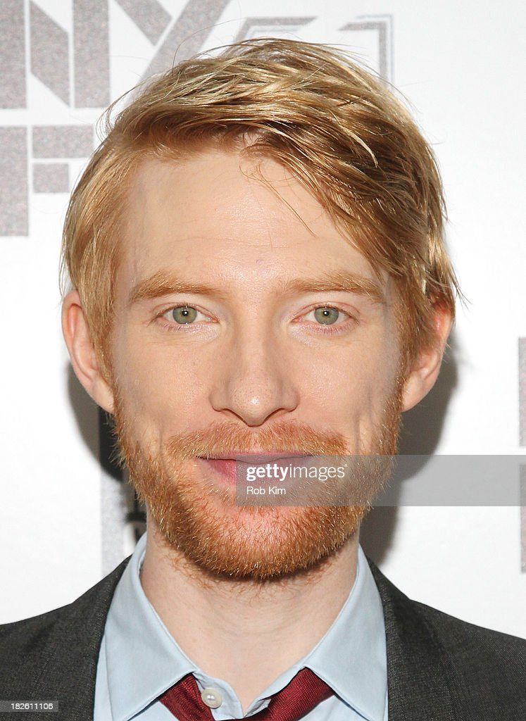 Actor <a gi-track='captionPersonalityLinkClicked' href=/galleries/search?phrase=Domhnall+Gleeson&family=editorial&specificpeople=653261 ng-click='$event.stopPropagation()'>Domhnall Gleeson</a> attends the 'About Time' premiere during the 51st New York Film Festival at Alice Tully Hall at Lincoln Center on October 1, 2013 in New York City.