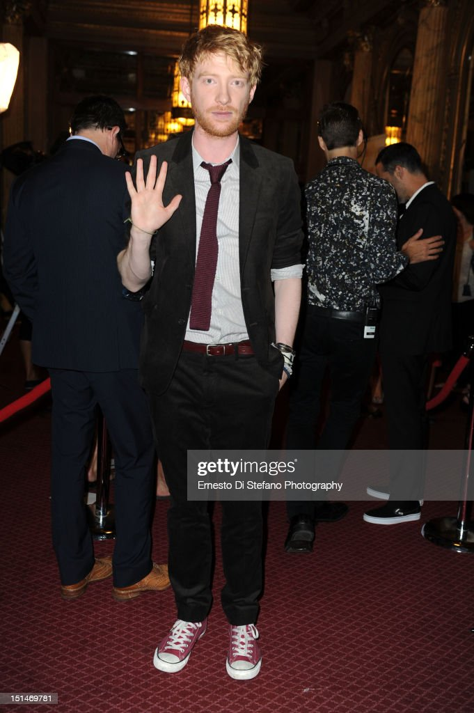 Actor Domhnall Gleeson attends the 'Anna Karenina' premiere during the 2012 Toronto International Film Festival at The Elgin on September 7, 2012 in Toronto, Canada.