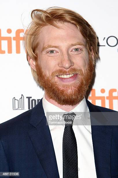 Actor Domhnall Gleeson attends the 'Brooklyn' premiere during the 2015 Toronto International Film Festival held at Winter Garden Theatre on September...