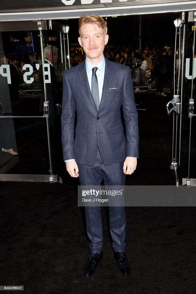 Actor Domhnall Gleeson attends the 'Mother!' UK premiere at Odeon Leicester Square on September 6, 2017 in London, England.