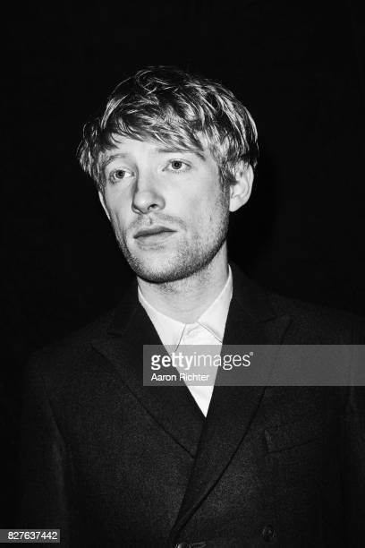Actor Domhnall Gleeson is photographed for BlackBook on October 10 2012 at Acme Studios in Brooklyn New York PUBLISHED IMAGE
