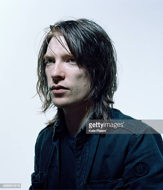 Actor Domhnall Gleeson is photographed for the Independent on October 7 2010 in London England