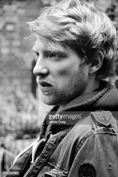 Actor Domhnall Gleeson is photographed on October 18 2012 in London England