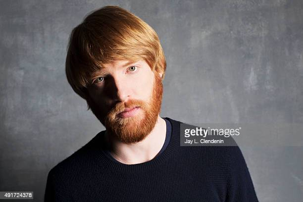 Actor Domhnall Gleeson of the film Brooklyn is photographed for Los Angeles Times on September 25 2015 in Toronto Ontario PUBLISHED IMAGE CREDIT MUST...