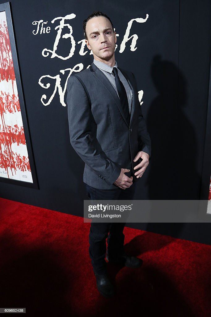 Actor Dominic Bogart arrives at the Premiere of Fox Searchlight Pictures' 'The Birth Of A Nation' at the ArcLight Cinemas Cinerama Dome on September 21, 2016 in Hollywood, California.