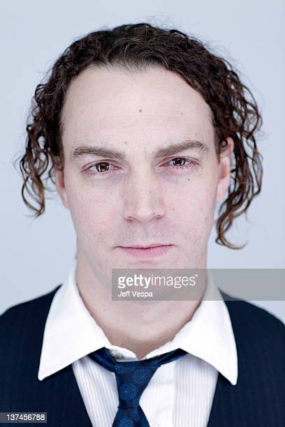 Actor Dominic Bogart poses for a portrait during the 2012 Sundance Film Festival at the WireImage Portrait Studio at TMobile Village at the Lift on...