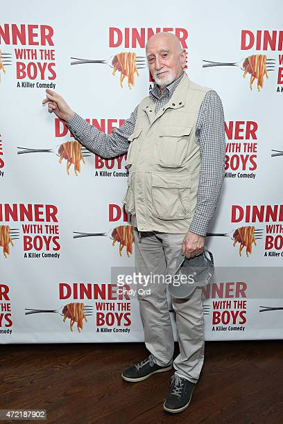 Actor Dominic Chianese attends 'Dinner With The Boys' opening night at Acorn Theatre on May 4 2015 in New York City