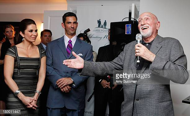 Actor Dominic Chianese performs The Jorge Posada Foundation's Decade of Difference celebration on November 9 2011 in New York City