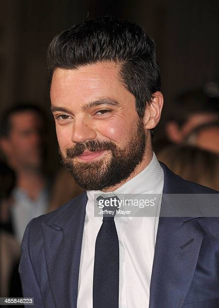 Actor Dominic Cooper arrives at the Los Angeles premiere of 'Need For Speed' at TCL Chinese Theatre on March 6 2014 in Hollywood California