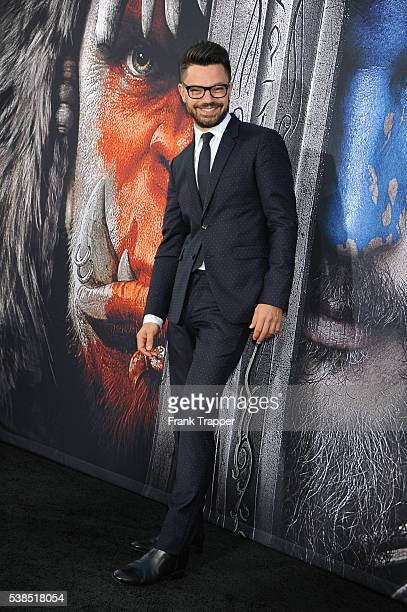 Actor Dominic Cooper attends the premiere Universal Pictures' 'Warcraft' at TCL ChineseTheater IMAX on June 6 2016 in Hollywood California