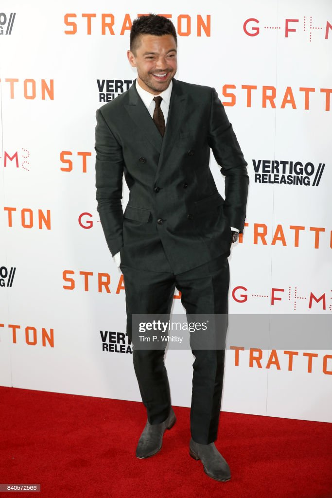 Actor Dominic Cooper attends the 'Stratton' UK premiere at the Vue West End on August 29, 2017 in London, England.