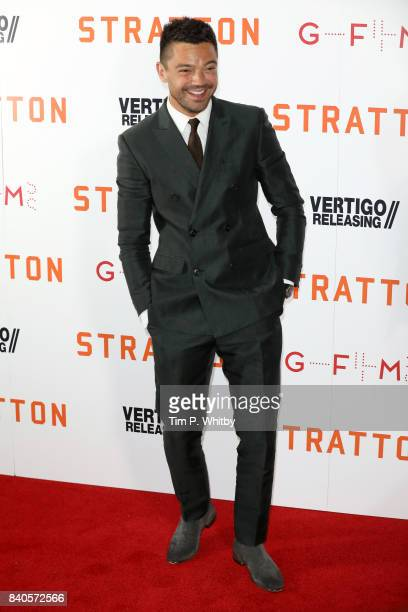 Actor Dominic Cooper attends the 'Stratton' UK premiere at the Vue West End on August 29 2017 in London England