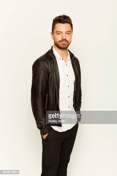Actor Dominic Cooper from AMC's 'Preacher' poses for a portrait during ComicCon 2017 at Hard Rock Hotel San Diego on July 20 2017 in San Diego...